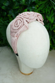 Pink Rose Headband - PhivestarhairboutiquePink Rose Headband