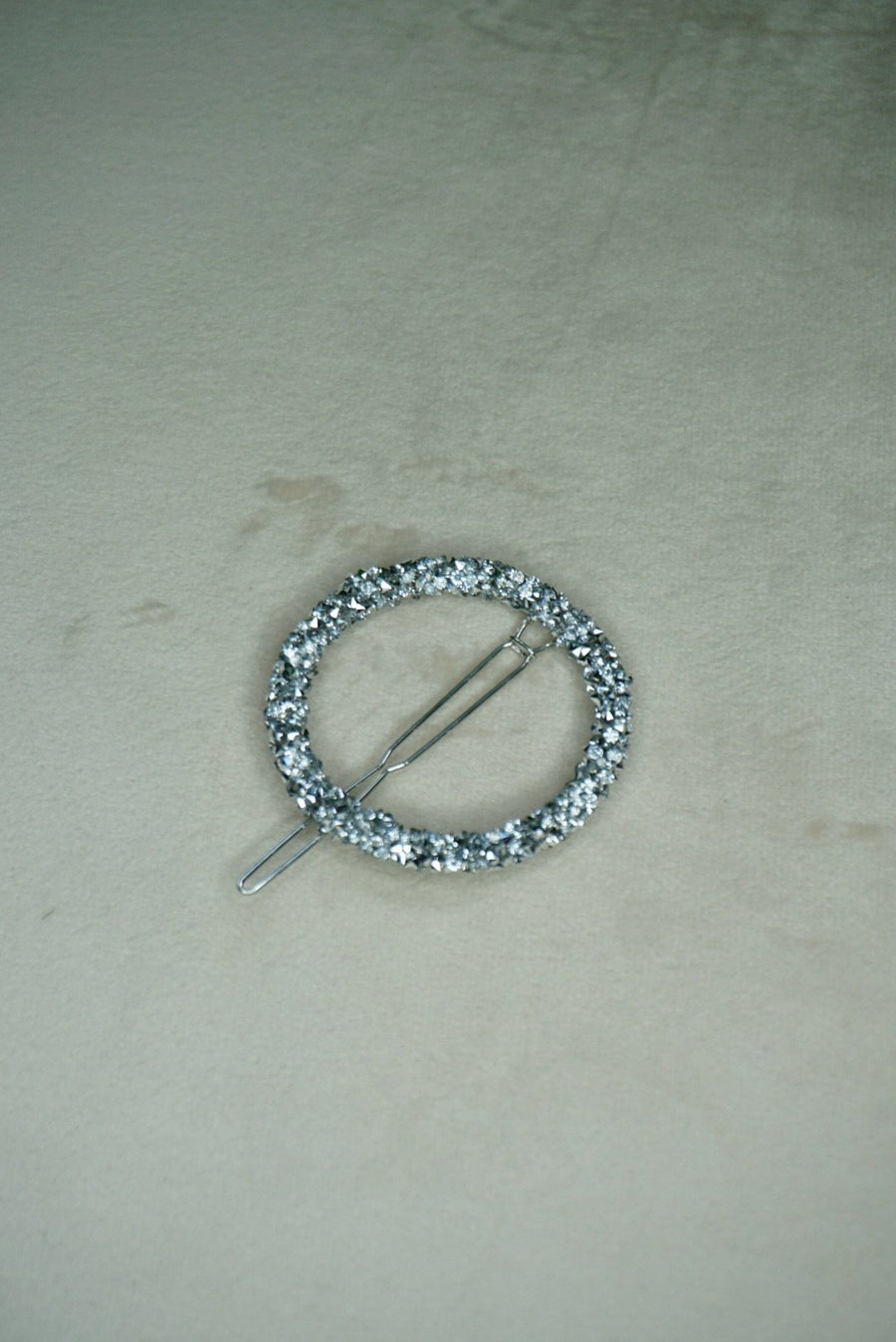 Silver Beaded Hair Clip - PhivestarhairboutiqueSilver Beaded Hair Clip