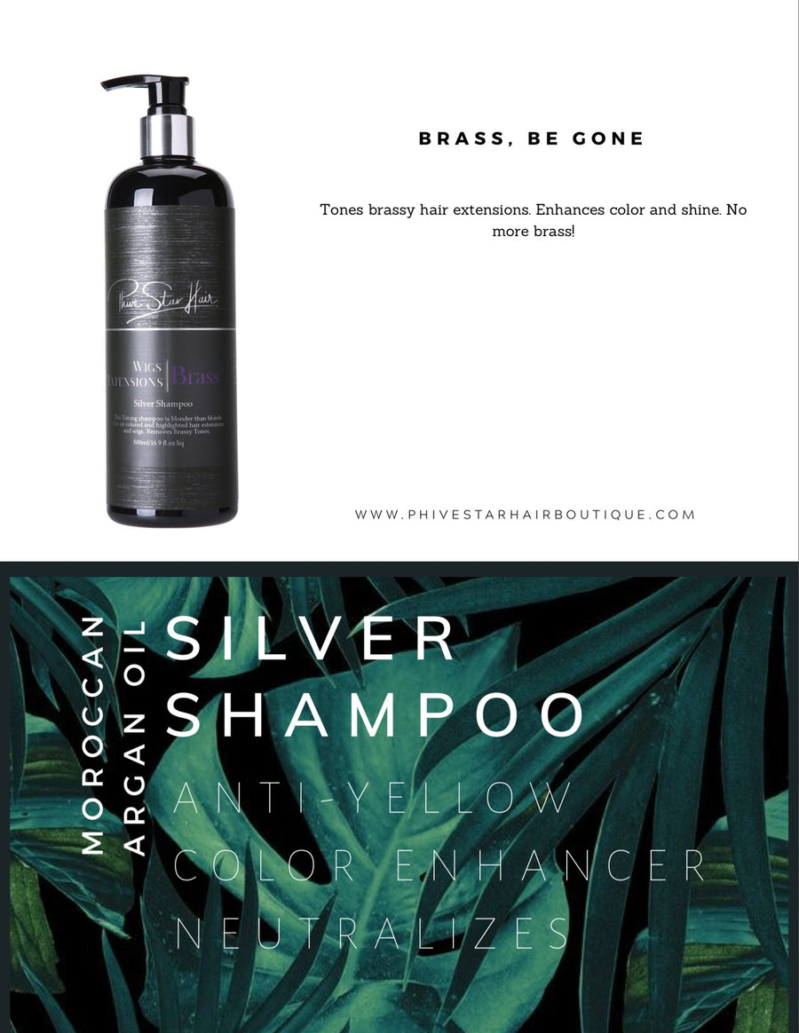 Silver Shampoo - PhivestarhairboutiqueSilver Shampoo
