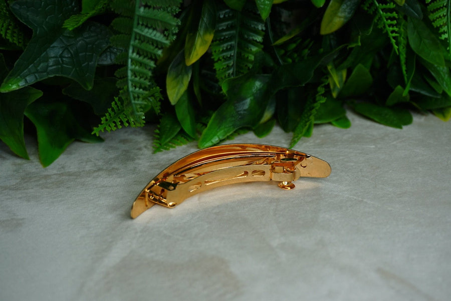 Slim Gold Hair Barrette - PhivestarhairboutiqueSlim Gold Hair Barrette