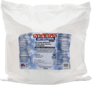 Gym Wipes Antibacterial Refill (Case)