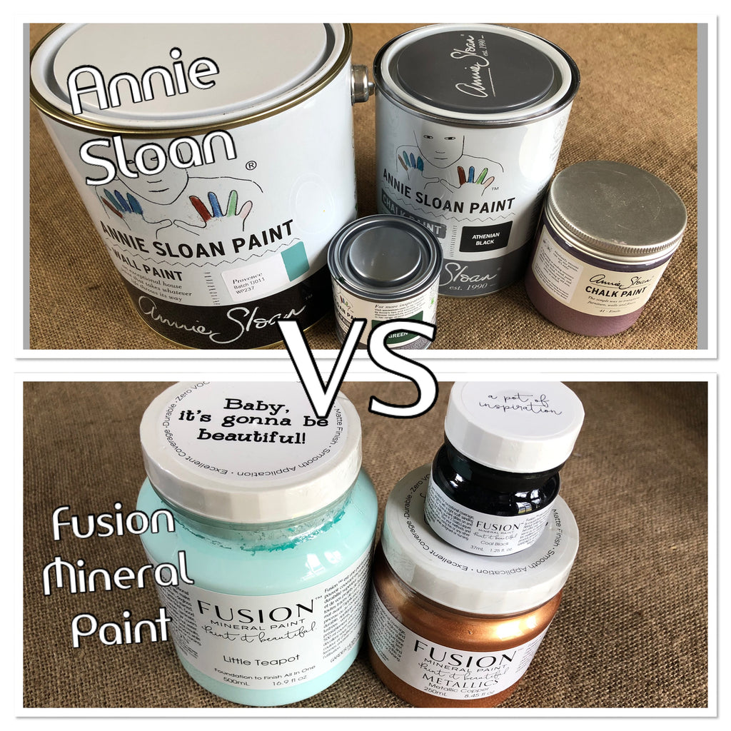 Fusion Mineral Paint of Annie Sloan Chalk Paint?