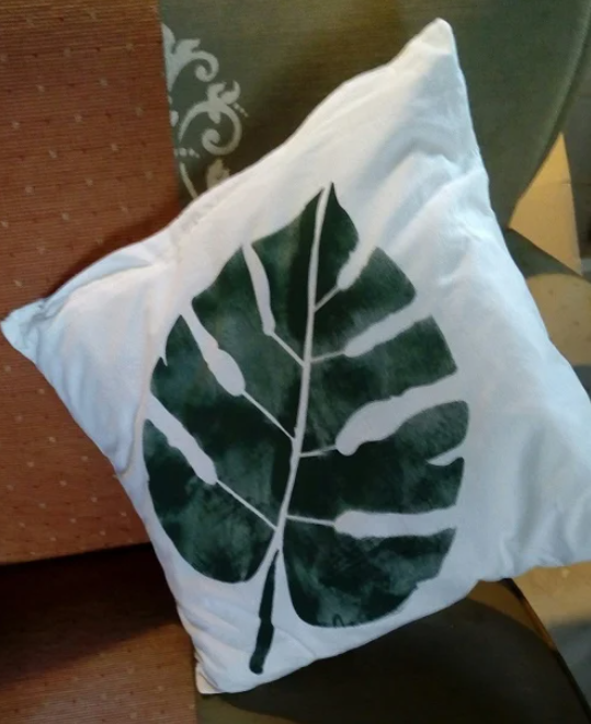 Sjabloon Monstera Blad