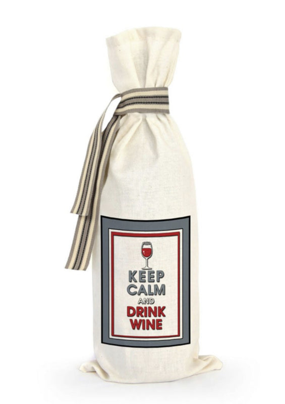 Sakkie Keep Calm and drink Wine