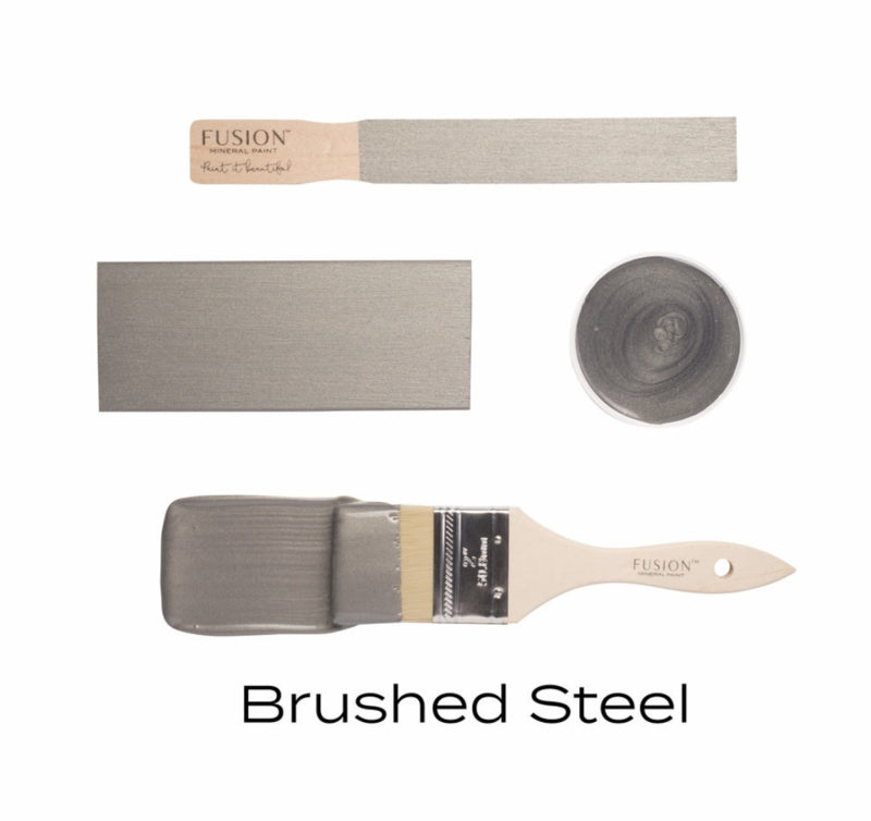 Fusion Brushed Steel