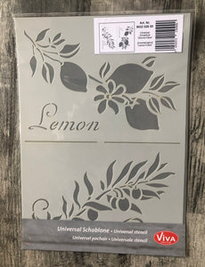 Sjabloon Lemon en Olive