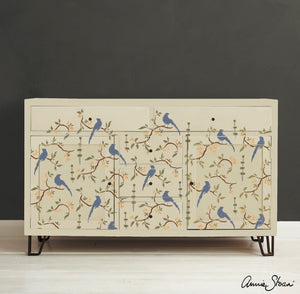 Sjabloon Annie Sloan Chinoiserie Birds