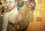 Afbeelding in Gallery-weergave laden, Beautiful woman in gold