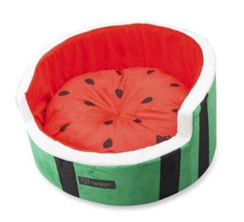 WATERMELON SHAPE MICRO FLEESE PET BED
