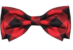 Buffalo Check Bow Tie by Huxley & Kent