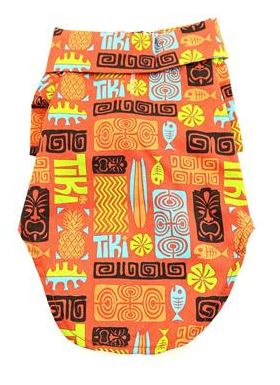 Tiki Hawaiian Camp Shirt