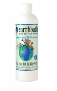 Earthbath® Tea Tree & Aloe Vera Hot Spot Relief Shampoo for Cat & Dog 16 Oz