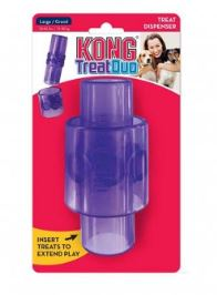 KONG® Treat Duo Dog Toy Purple