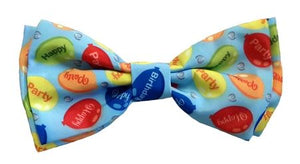 Party Time Blue Bow Tie by Huxley & Kent
