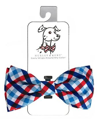 Picnic Check Bow Tie by Huxley & Kent