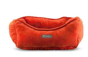 NANDOG MICRO PLUSH REVERSIBLE RED RUSSET