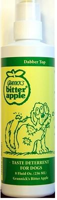 Grannick's Bitter Apple Taste Deterrent For Dogs 8oz