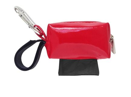 Designer Duffle - Solid Red - Black/Unsented - 1 Roll