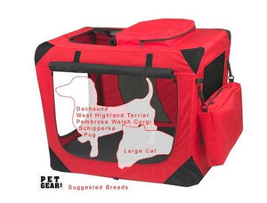 Small Deluxe Soft Crate, Generation II - Red Poppy