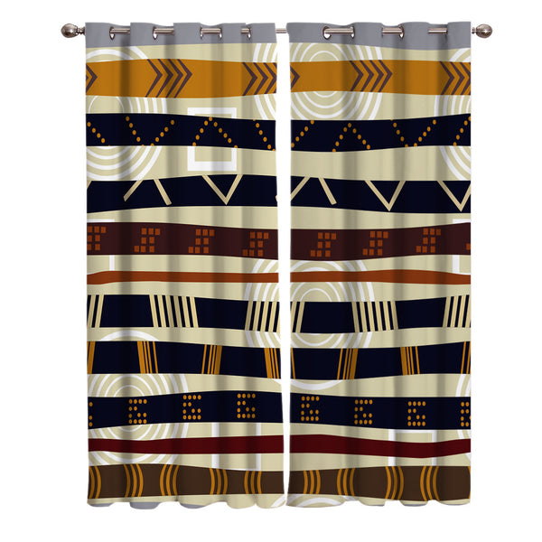 Tribal Pattern Curtains