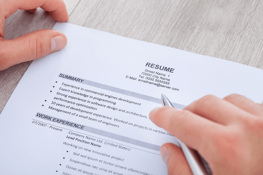 Expert Written, Professional Resume