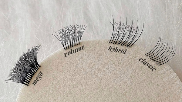 THE DIFFERENT TYPES OF LASH EXTENSIONS, EXPLAINED