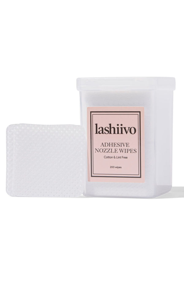 Lashiivo adhesive wipes
