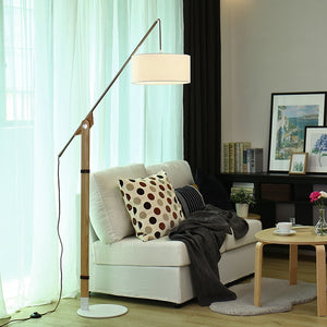 Modern Adjustable Fishing Design Floor Lamp