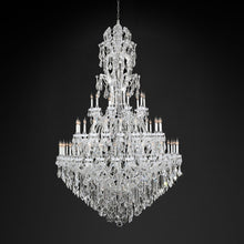 Load image into Gallery viewer, Luxury Art Deco Style Crystal Chandelier