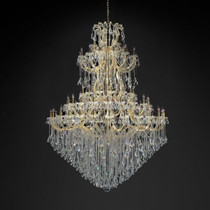 Luxury Art Deco Style Crystal Chandelier