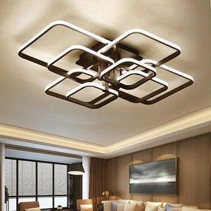 Modern Chandelier w/Remote Control for Dining Room/Bedroom/ Restaurant