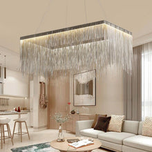 Load image into Gallery viewer, Manggic Modern Luxury Chrome Chandelier