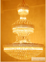 Load image into Gallery viewer, Modern Luxurious Crystal Chandelier