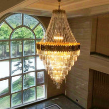 Load image into Gallery viewer, Modern Luxury Hanging Crystal Chandelier