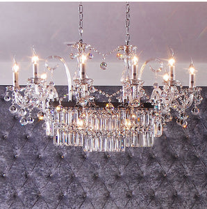 Phube Candle Crystal Chandeliers