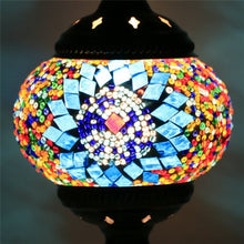 Load image into Gallery viewer, Mediterranean Style Mosaic Table Lamp