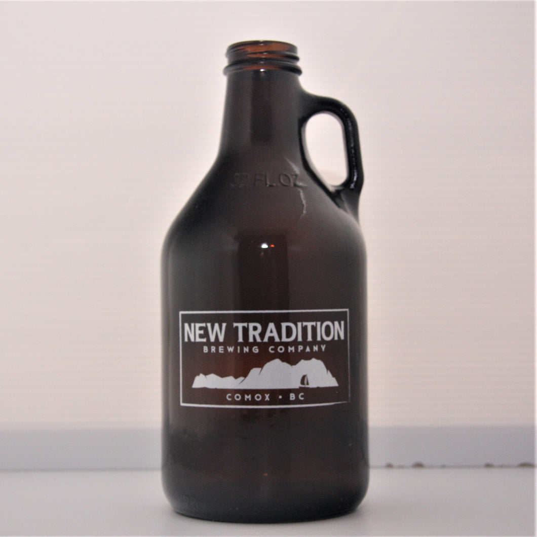 New Tradition Brewing Growletta 32oz