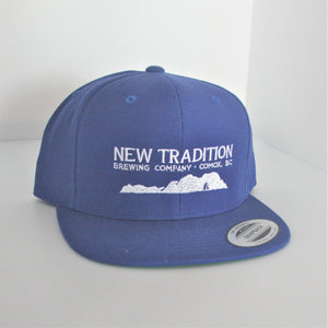 Ball Cap - Flat Brim Embroidered