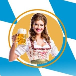 Oktoberfest 2020 : Inside Table: (6 People) : 2-4pm Seating : x 4 tickets
