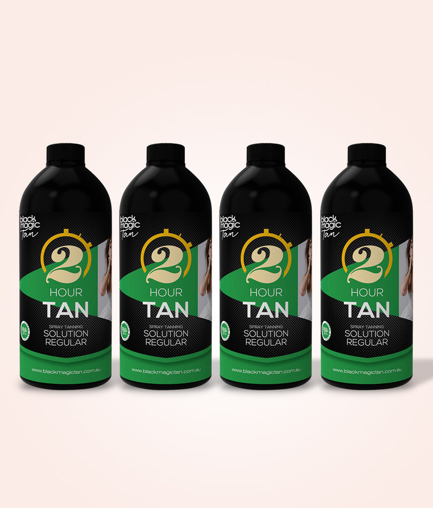 Original 2 Hour Tan Regular 4 Litres