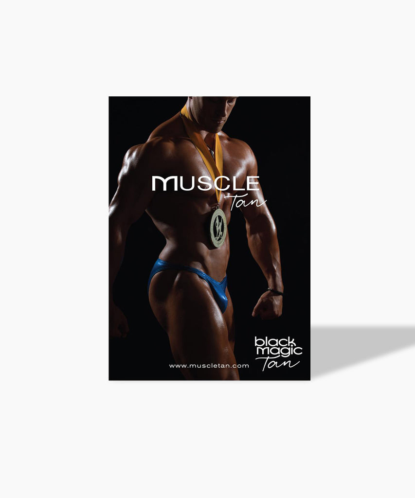 Muscle Tan Poster