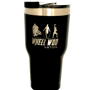 Load image into Gallery viewer, WheelWod / Equip RTIC 20oz Tumbler