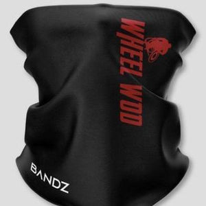 WheelWod Face Shields (Black with white lettering, Black with red lettering)