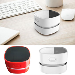 Home Office Automatic Mini Desktop Table Dust Collector Vacuum Cleaner