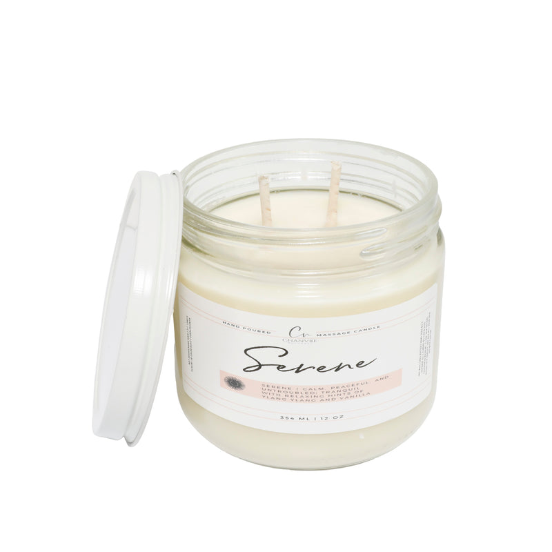 Serene Massage Candle