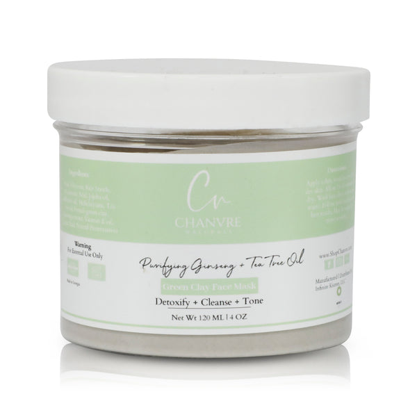 Purifying Ginseng + Tea Tree Oil Face Mask