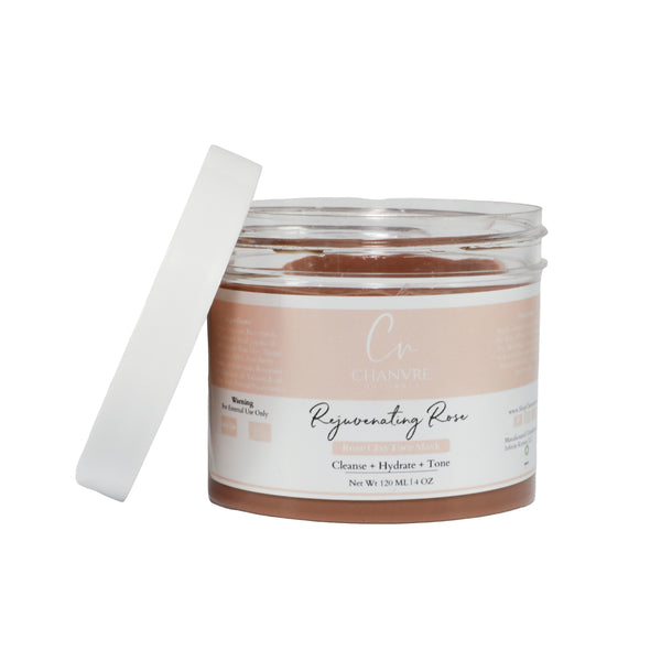 Rejuvenating Rose Clay Face Mask
