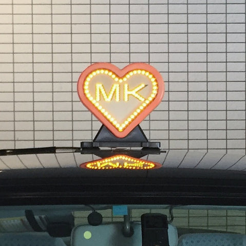 Heart-shaped Kyoto Taxi Topper