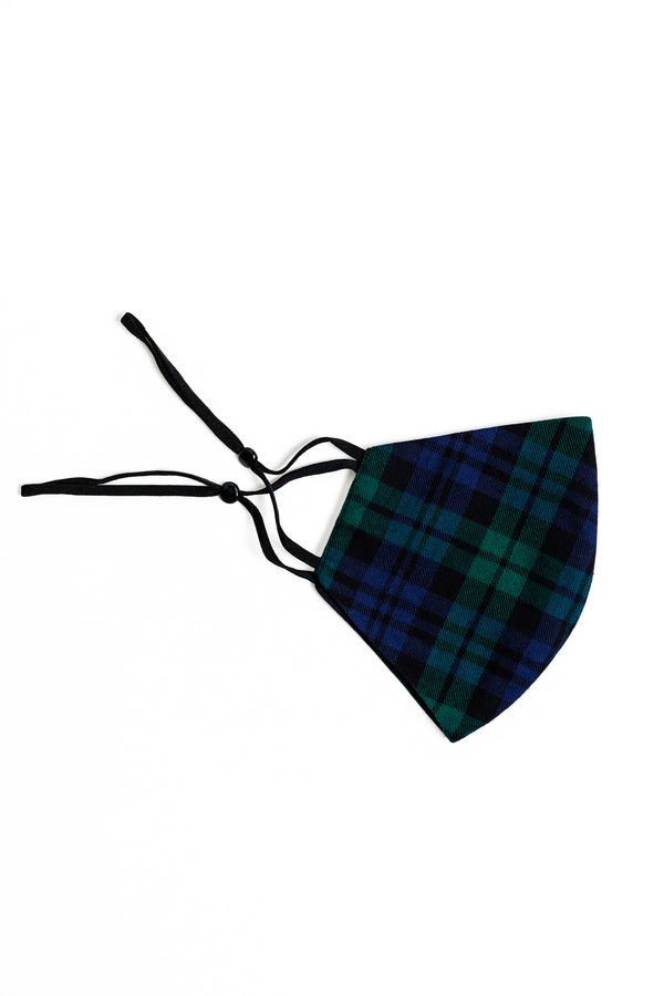 blackwatch tartan face mask
