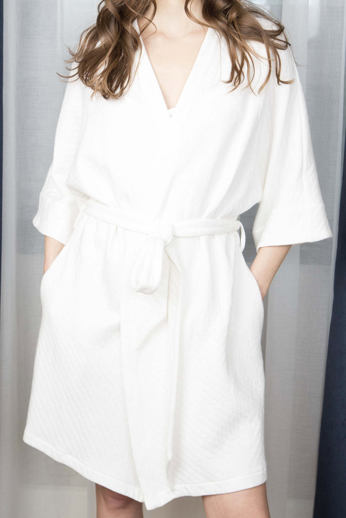 EMMA QUILTED ROBE